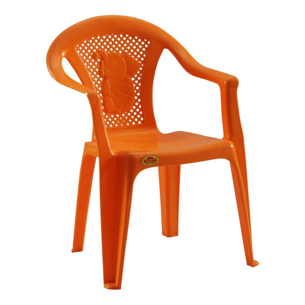 Poo Kids Chair Orange